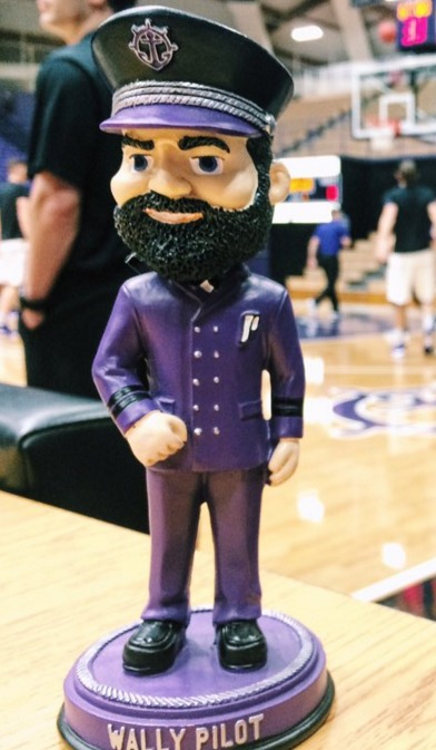 Wally Pilot Bobblehead - University of Portland (NCAA Men's Basketball) - 1-30-2016