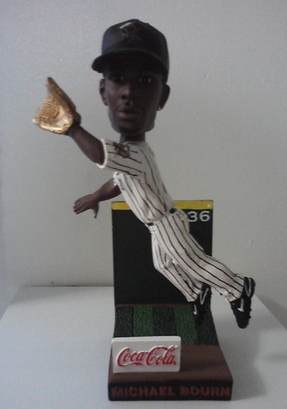 michael bourn wall catch Bobblehead Astros