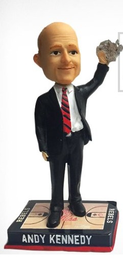 Andy Kennedy Bobblehead - Ole Miss (Men's NCAA Basketball) - 2-13-2016 (2)