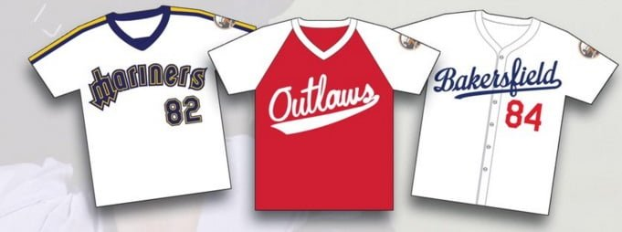 Bakersfield Blaze Throwback Jersey Giveaways