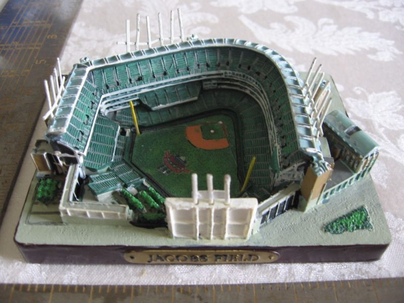 Cleveland Indians did a SGA of a Jacobs Field replica