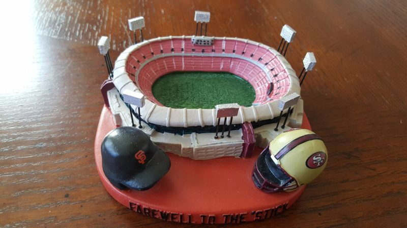 Giants did a farewell to the 'stick (Candlestick Park