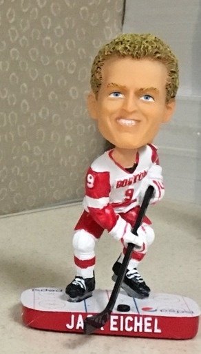 Jake Eichel Bobblehead - Boston University (Men's NCAA Hockey) - 2-20-2016