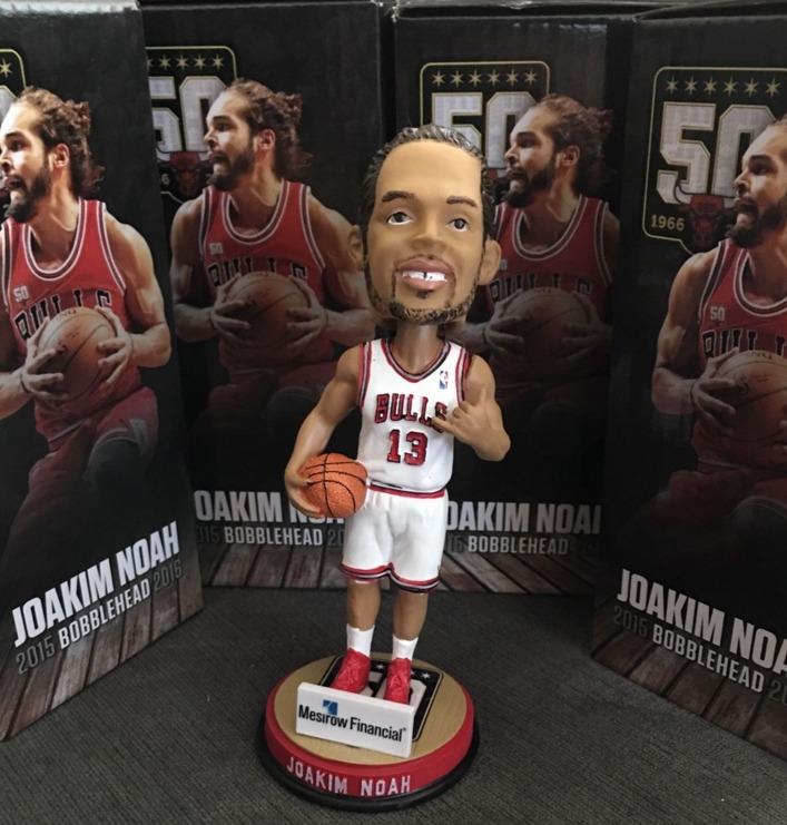 Joakim Noah Bobblehead - Chicago Bulls - 2-21-2016