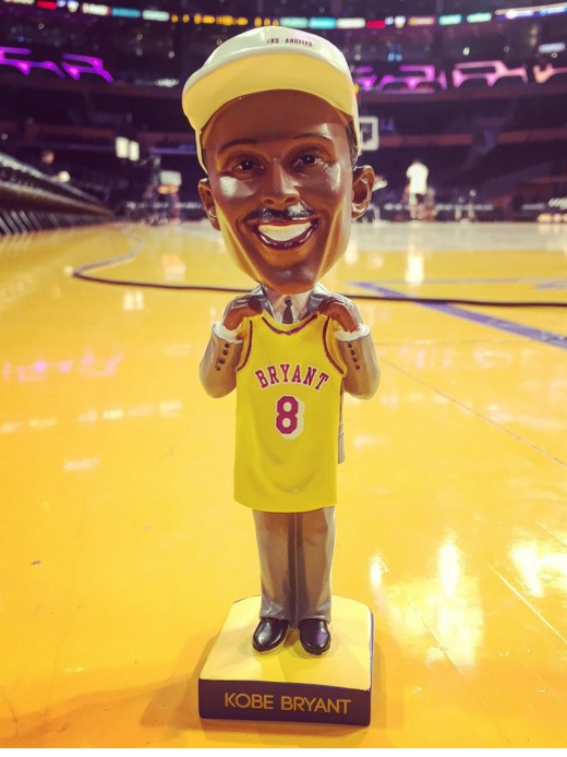 Kobe Bryant Bobblehead - Los Angeles Lakers - 3-1-2016