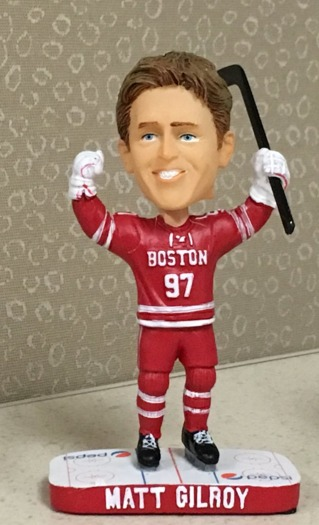 Matt Gilroy Bobblehead - Boston University (Men's NCAA Hockey) - 2-12-2016 (2)