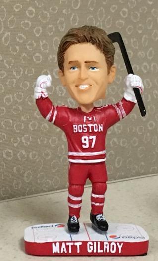 Matt Gilroy Bobblehead - Boston University (Men's NCAA Hockey) - 2-12-2016 (2)