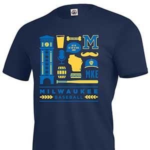 August 12 2015 Milwaukee Brewers Free Shirt Friday