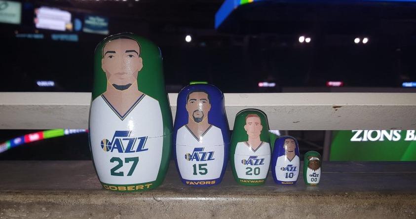 Nesting Dolls - Utah Jazz - 2-27-2016