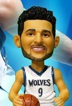Ricky Rubio Bobblehead - Minnesota Timberwolves - 2-20-2016