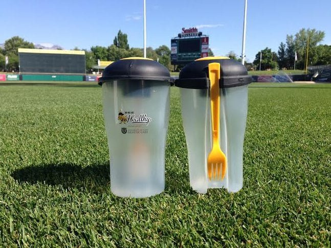 Salt Lake City Bees Salad Shaker 7-9-2016