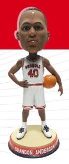 Shandon Anderson Bobblehead - University of Georgia (Men's NCAA Basketball) - 2-27-2016