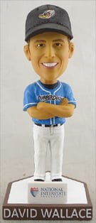 dave wallace bobblehead - akron rubber ducks - 7-30-2016