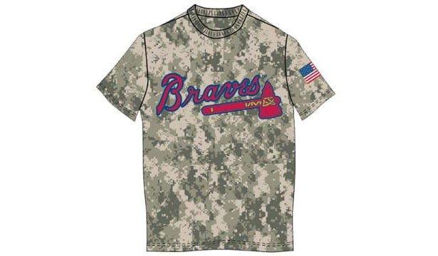 Atlanta Braves MilitaryShirt 5-30-2016