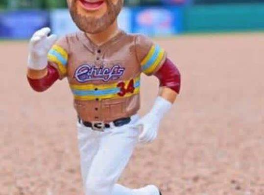 Chiefs Bryce Harper Firefighter Bobblehead 7-16-2016