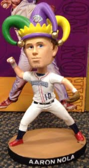 Lehigh Valley Iron Pigs Aaron Nola Bobblehead 5-31-2016