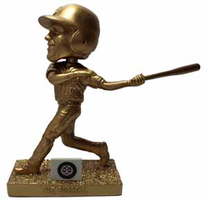 Pat Burrell Golden Bobblehead - Reading Fightin Phils - 7-27-2016
