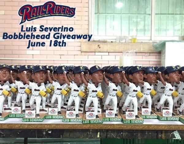 Rail Riders Luis Serverino Bobblehead 6-18-2016