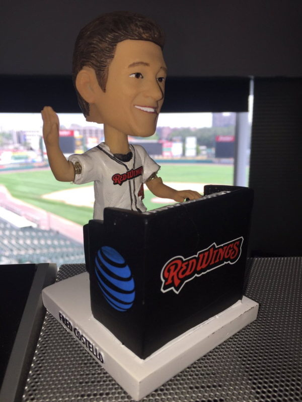 Rochester Red Wings PJ Forbes Bobblehead 8-2-2016