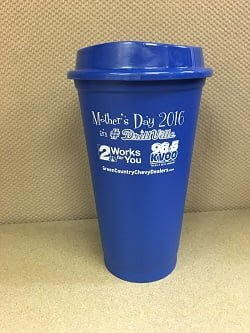 Tulsa Drillers Mothers Day Tumbler 5-8-2016