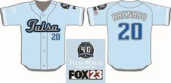 Tulsa Drillers Nolan Arenado Jersey 7-28-2016