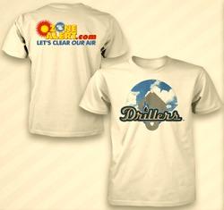 Tulsa Drillers Ozone T Shirt 5-11-2016