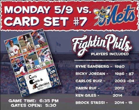 reading Fightin Card Set 5-9-2016