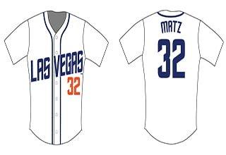 steven matz replica jersey - las vegas 51s - 7-30-2016