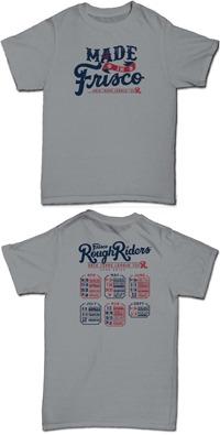 tshirt - frisco roughriders - 4-16-2016
