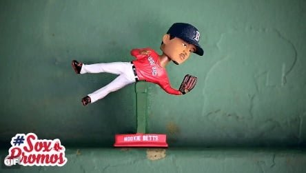 Boston Red Sox Betts Bobblehead 4-19-2016