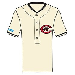 Chicago Cubs 1916 Chicago Cubs Replica Throwback Jersey 7-6-2016