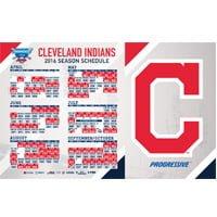 Cleveland Indians Magnet Schedule 4-4-2016