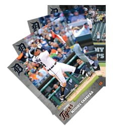 Detroit Tigers Baseball Card Set 4-24-2016