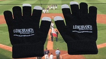 Gloves - Cedar Rapids Kernals - 4-8-2016