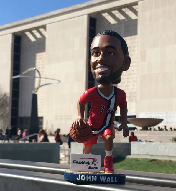 John Wall Bobblehead - Washington Wizards - 4-10-2016