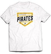 Pittsburgh Pirates T Shirt 6-10-2016