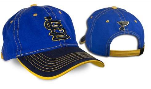 St Louis Blues Cap - St Louis Cardinals - 9-28-2016