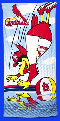 St Louis Cardinals Kids Beach Towel 6-5-2016