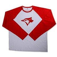 Toronto Blue Jays Red Blue Jays Baseball Shirt 8-28-2016