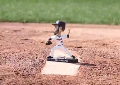 Tri-City Valley Cats Dallas Keuchel Bobblehead 7-18-2016