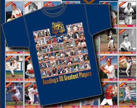 Tshirt - Reading Fightin Phils - 4-7-2016