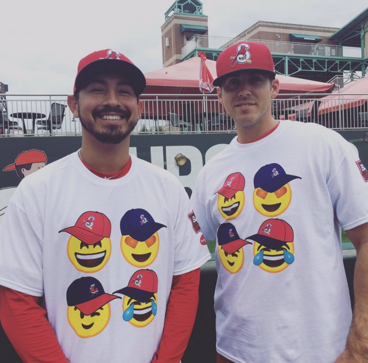 emoji t-shirt - springfield cardinals - 4-16-2016
