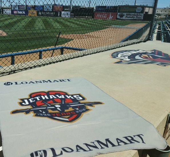 fleece blanket - lancaster jethawks - 4-16-2016