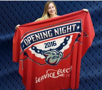 fleece blanket - lehigh valley ironpigs - 4-14-2016