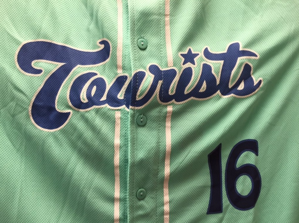 jade replica jersey - asheville tourists - 4-16-2016