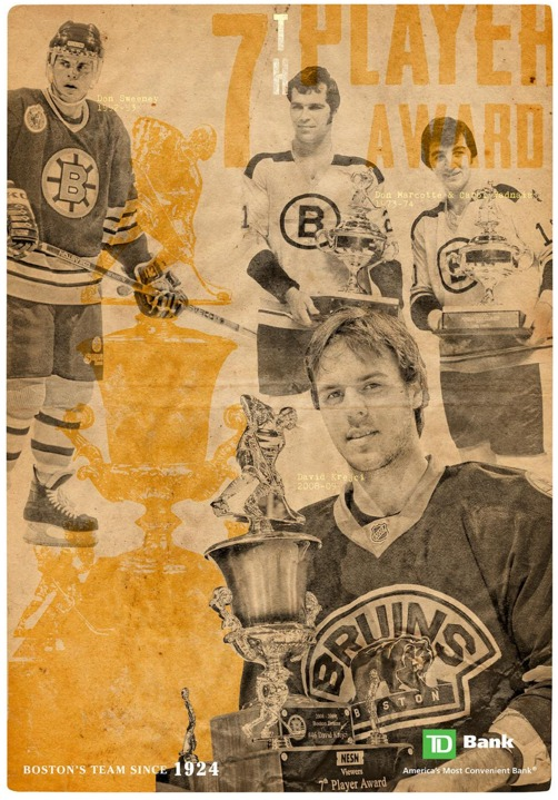 poster - boston bruins - 4-7-2016