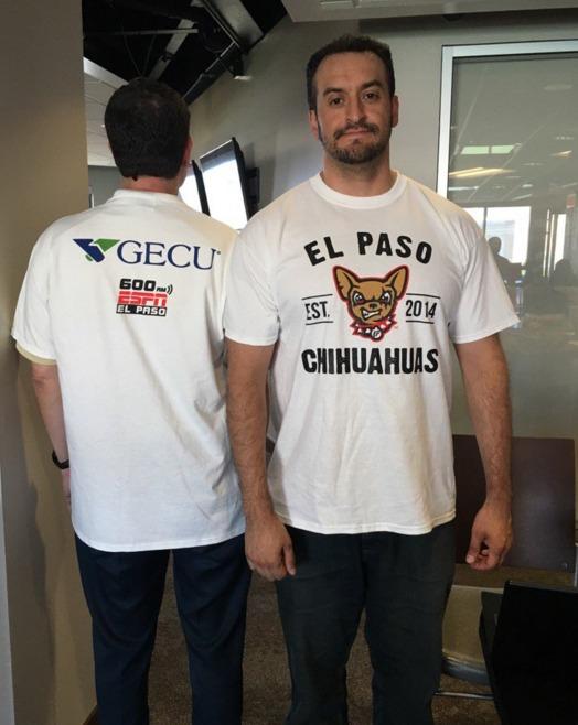 tshirt - el paso chihuahuas - 4-19-2016