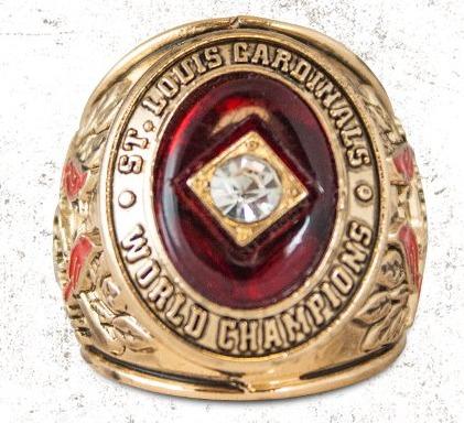 1946 replica world series ring - st louis cardinals - 5-6-2016