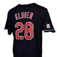 Cleveland Indians Corey Kluder Jersey 5-28-2016