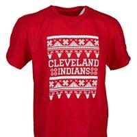 Cleveland Indians Ugly Christmas Tshirt 7-29-2016